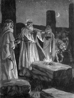 How the Druids became Witches
