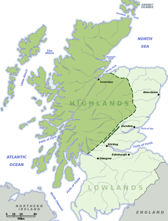 An ethnohraphic history of Scotland, Part III: Highlander and Lowlander