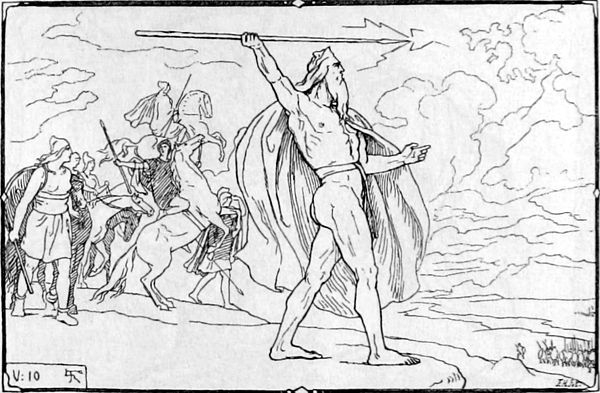 Angels and Demons in Teutonic Mythology