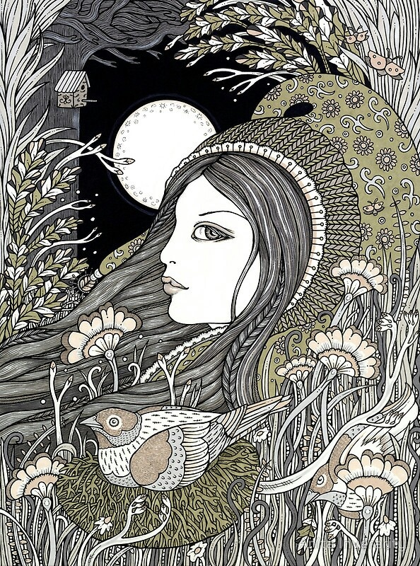 'Ostara', Goddess of Dawn and Spring